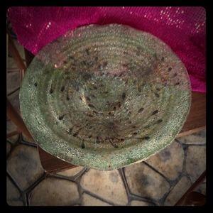 Artglass Platter/Bowl